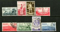 Italy Stamps # 359-66 VF USED Scott Value $659.00