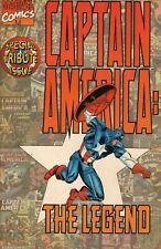 1996 September Captain America: The Legend Marvel Comic Book #1
