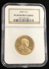 2005-S Proof Sacagawea Dollar $1 NGC PF69 Ultra Cameo Graded B6n