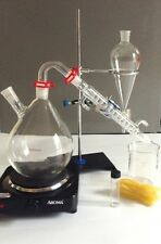 Essential oil steam distillation kit 2000 ml  , hot plate 110 V