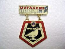 Lions Club Pin  Matagami A6 Porte Dela Baie James Canada
