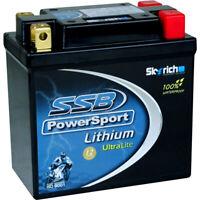NEW SSB PowerSport LFP9Q-B High Performance Lithium Ion 12V Motorcycle Battery