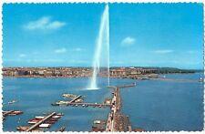 CPSM Suisse Lémanique Genève le Jet d' Eau