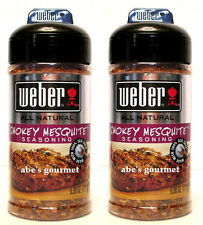Weber® All Natural Seasoning with Sea Salt: Smokey Mesquite™ (2 Pack) 6 oz Size