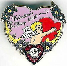 Hard Rock Cafe TAIPEI 2000 Valentine's Day PIN Cupid Heart - HRC Catalog #9623