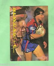 RUGBY LEAGUE AUTOGRAPHED  CARD -  1996  MARC GLANVILLE, NEWCASTLE KNIGHTS