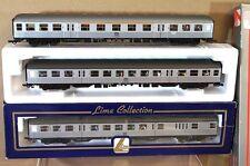 LIMA 9590 9145 DB SILBERLING SUBURBAN 1st & 2nd CLASS COACH SET X 3 MIB mw