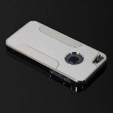 Silver Luxury Brushed Aluminum Chrome Hard Case For iPhone 5 5G - Free Shipping