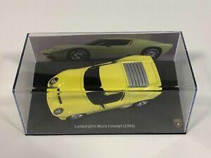PRESSE ALTAYA IXO Lamborghini Miura Concept Jaune 2006 1/43 Miniature Collection