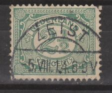 NVPH Netherlands Nederland 55 used Cijfer 1899-1913 TOP CANCEL ZEIST