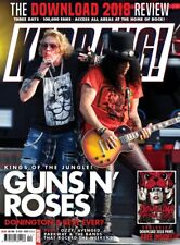 KERRANG magazine June 2018 - GUNS N' ROSES Avenged Sevenfold DOWNLOAD 2018