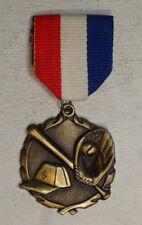 Award Badge or Medal, Baseball Theme, New + Unengraved 0123-95