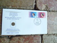 1988 NEW ZEALAND  PHILATELIC SOCIETY OF NZ  FIRST DAY  COVER WELLINGTON EXHIBITI