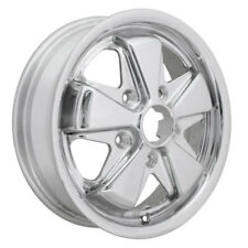"MK1 CADDY Wheel, SSP Fook TUV, Polished  5/130  4.5""x15"" ET45"