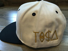 VINTAGE LA LOS ANGELES RAIDERS GOLD TISA SNAPBACK TI$A