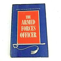 The Armed Forces Officer Book Department Of Defense 1960's Navpers 15923A