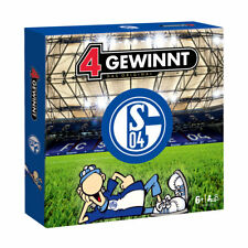 4 Gewinnt FC Schalke 04 Strategie Spiel Fußball Brettspiel Gesellschaftsspiel