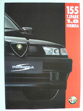 Prospetto ALFA ROMEO 155 TWIN SPARK 1.8 formula, 3.1994, 6 pagine, Folder