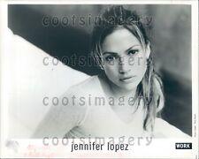 Sweet Faced Supermodel Actress Singer J Lo Jennifer Lopez Press Photo