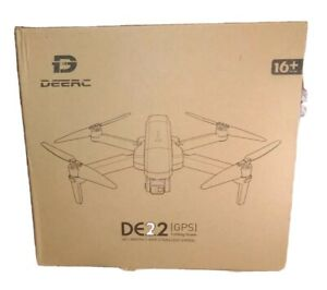 DEERC DE22 GPS Drone with 4K Camera 2-axis Gimbal EIS 5G Brushless 52Min + case