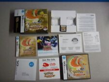 Pokemon HeartGold Version Box w Game & all inserts. NO POKEWALKER NO BREAD