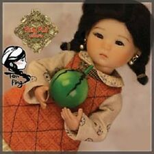 Ten Ping HA0010A RUBY RED GALLERIA ASIAN DRESSED DOLL SET NRFB