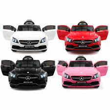 MERCEDES C63S 12V KIDS RIDE-ON CAR WITH RC PARENTAL REMOTE