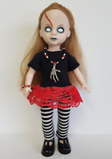 Living Dead Doll Clothes Goth Dress Leggings & Bones Jewelry Fashion NO DOLL d4e