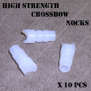 HIGH STRENGTH NOCKS FOR CROSSBOW / FITS VICTORY, BARNETT, NOCKTURNAL 297-302 ID