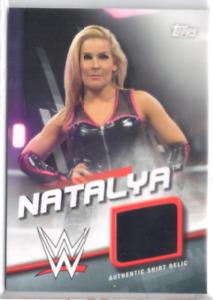 Natalya 2016 Topps WWE Divas Revolution - Shirt Relic #118/199