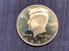 2007 S Kennedy Half Dollar Proof Clad 50c US Coin Collectible