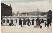 Derbyshire; New Baths, Buxton PPC, By National, 1906 Leek PMK To Howard, Chelsea