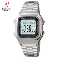 New CASIO Digital Watch Silver/Gray A-178WA-1AJF Standard Men's From Japan
