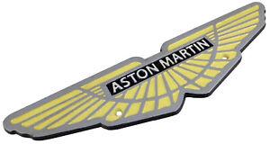 Aston Martin Car Logo - Cast Iron Sign Plaque