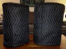 BEHRINGER B110D B 110D Premium Padded Black Covers (2)  Qty of 1 = 1 Pair!