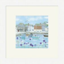 Hannah Cole Framed Print, Padstow, Choice of 3 Frame colours