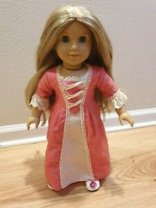 American Girl Doll Elizabeth - Lightly used - In box with outfits