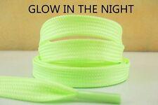 44 Inch Neon Green Glow In The Dark Shoelaces For Children Lisa