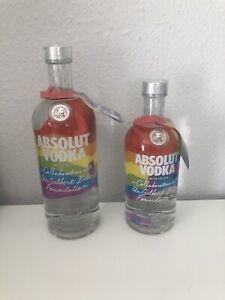 Absolut Vodka Gilbert Baker Limited Edition Set 1l&0,7l