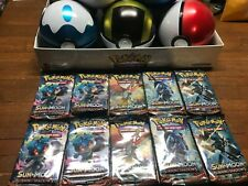 Pokemon Sun & Moon Burning Shadows Booster Pack Lot of 10