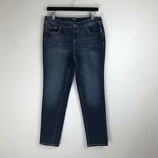Earl Jeans - Skinny Dark Distressed Wash - Tag Size: 12P (30x29) - #5874
