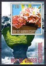 Fleurs - Guinée Equatoriale (132) bloc oblitéré