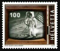 Switzerland 2019 suisse Moon Landing astronaut Neil Armstrong Eagle lunar 1v mnh