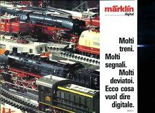 Modellismo Ferrovia catalogo treni Marklin digital 1986 87 6 pagine