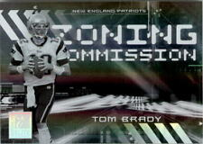 2006 Donruss Elite Zoning Commission Black #1 Tom Brady /500 - NM-MT