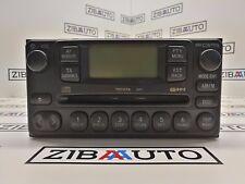 Toyota Rav4 II XA2 Radio Unidad CD Am Fm Sistema de Navegación 86120-42130