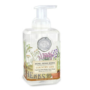 Country Life Foaming Hand Soap by Michel Design Works