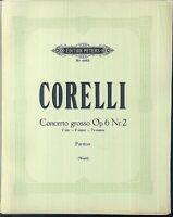 Corelli - Concerto grosso Op. 6 Nr. 9 F-Dur - Partitur plus alle Stimmen