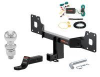 CURT 113393 Class 1 Trailer Hitch with Ball Mount 1-1//4-Inch Receiver  for Select Jaguar X-Type