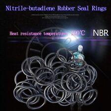 100 x NBR Rubber O Ring Seal Plumbing Gasket WD 1.9 OD 58/60/62/63/64/65/68/70mm